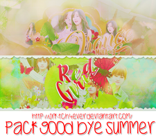 [GOOD BYE SUMMER-PSD] by JRK-TCH4ever