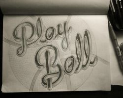 Play Ball in progress by BeautyMind