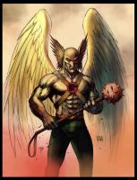 hawkman by flowcoma colors by GIO2286