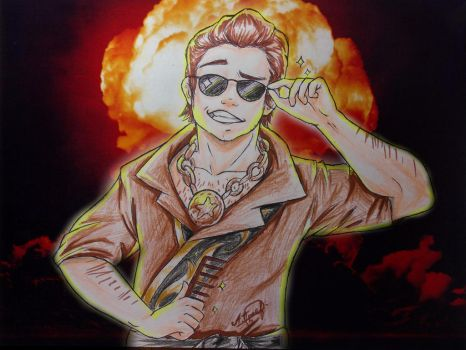 Cool guys don't look at explosions by ProNastya