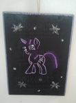 Twilight Sparkle Plaque by Morobutt
