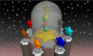 Star Pedestal Finish by Allikiza