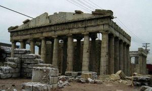 Model of the Parthenon by flintlockprivateer