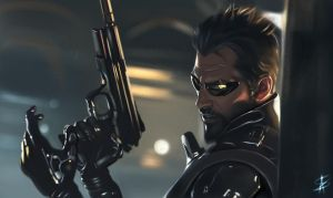 Adam Jensen - Deus Ex Mankind Divided by TheSig86