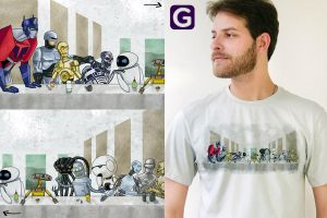 Cyber Ceia T Shirt by ChamaCamisetas