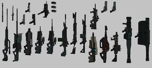 WEAPONS by DuGrant