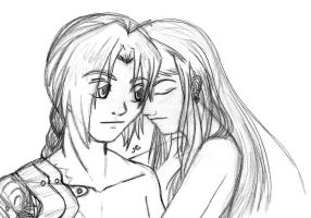 FMA - Edward and Winry by shadow-walker-tiasha