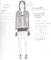 Outfit One by paperxcrip