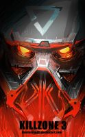 SAI speed paint-Helghast by EvilDei
