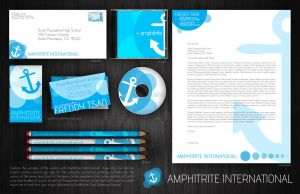 amphitrite branding project. by efftee