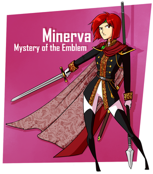 Minerva by omgdragonfly