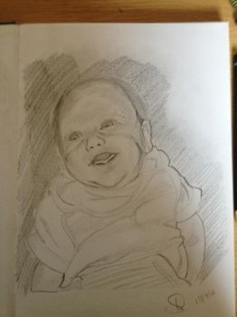 Smiling Baby by straughany