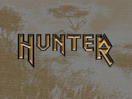 Hunter - Font Title by mhofever