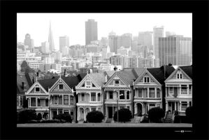 Victorian Row by vinnymack