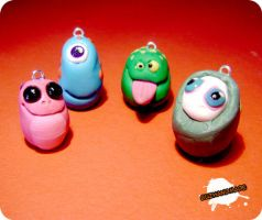 FIMO - monsters by buzhandmade