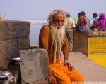 Chai Wallah (Varanasi, India) by drewhoshkiw