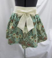 Birds and Antlers Skirt by rei-chaka