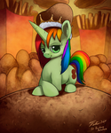 Rainbow Potato_Commission by Tsitra360