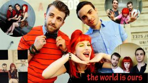 my first ever paramore desktop by kaatje1903