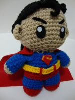 Arjeloops Superman Crochet Doll by Arjeloops