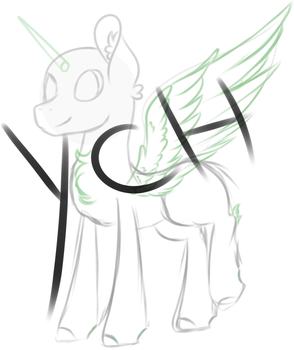 ::YCH:: Happy little pony by AngelLightYT
