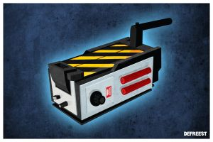Ghostbusters Ghost Trap by Jonnyetc