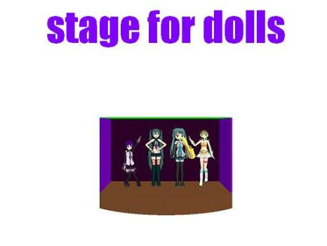 MMD stage for dolls by bawicho