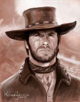 Clint Eastwood by Nin-jah