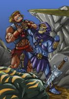 HE-MAN-SKELETOR by drull