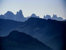 A Dolomites skyline by edelweiss26