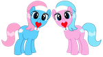 Spa Twins: Hearts and Hooves Day by IronwoodAKACleanser