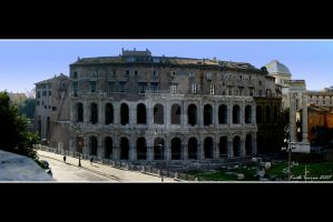 Theatre of Marcellus by Keith-Killer