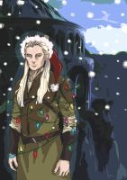 Legolas christmas by imo-drama-queen