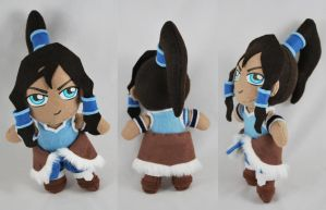 Korra Plush 2.0 - SOLD by sakkysa