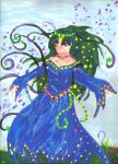 Painting Mother Earth by Taiya001