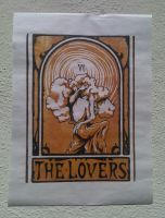 The Lovers Tarot Card by undeadsea