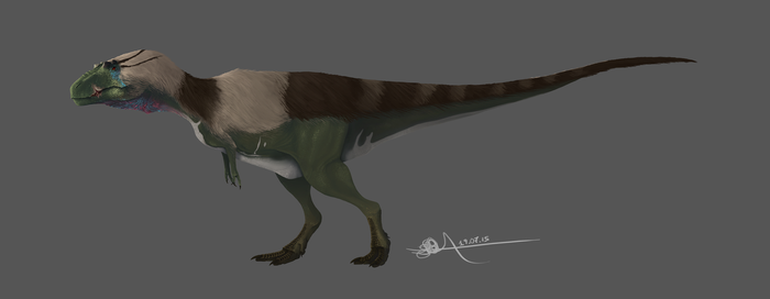 New Japanse Tyrannosaur by TheWoodParable