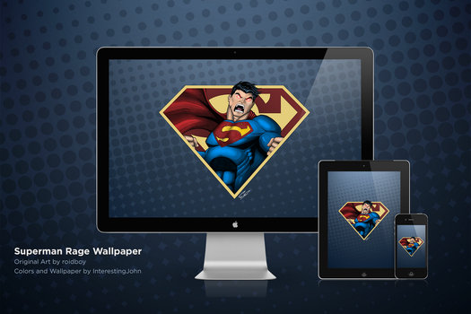 Superman Rage Wallpaper Collection by InterestingJohn