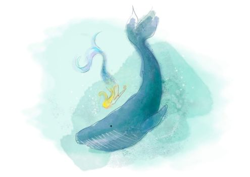 whale by Lidia-mp