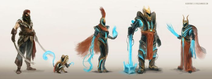 Bloodsport 13 | Time Warriors Concepts by diogocarneiro