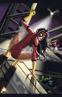 Spiderwoman by rdsimon62