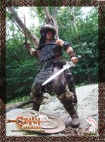 Conan the Barbarian - Battle of the Mounds version by CalvinsCustom