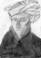 A Man In A Turban by DelicateWhisper