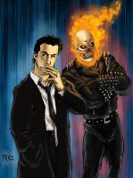 Constantine Ghost Rider colors by dartbaston
