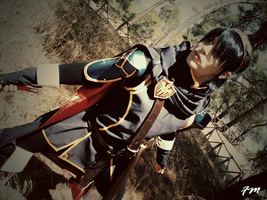 Marth - DLC  Fire Emblem Awakening - On guard II by Kura-Kitsune