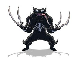 VenomWolverine by shadowstheater