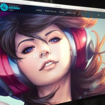 Official Artgerm Website Launched by Artgerm