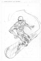 Silver Surfer by MikeOppArt