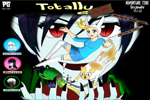 TOTALLY EVICTED:AT FIOLEE DOUJINSHI MANGA COVER by Shai3518