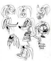 Alfred Alfer sketch-a-madoodles by spongefox